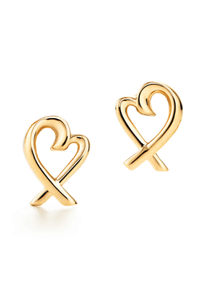 Paloma Picasso® Loving Heart earrings in 18k gold
