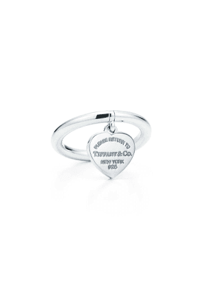 Return to Tiffany™ heart tag ring in sterling silver - Size 6