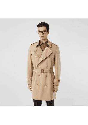 Burberry The Midlength Chelsea Heritage Trench Coat, Beige