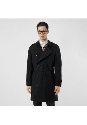 Burberry The Midlength Chelsea Heritage Trench Coat, Black