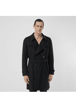 Burberry The Midlength Kensington Heritage Trench Coat, Black