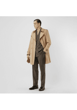 Burberry The Midlength Kensington Heritage Trench Coat, Beige