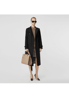 Burberry The Long Waterloo Heritage Trench Coat, Black