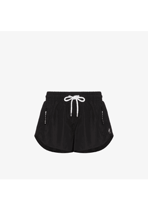 P.e Nation Womens Black Double Drive Track Shorts