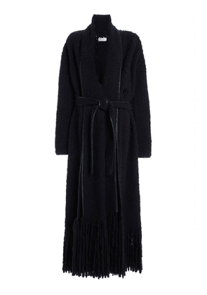 Gabriela Hearst Dream Fringed Woven Cashmere Coat