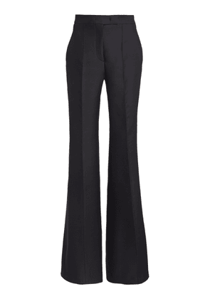 Gabriela Hearst Leda Wool-Silk Flared Trousers