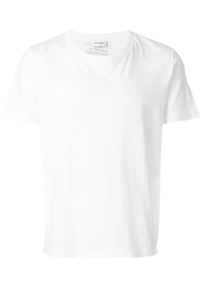 Saint Laurent slim T-shirt - White