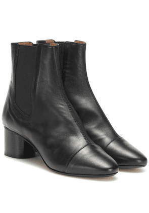 Danae leather ankle boots