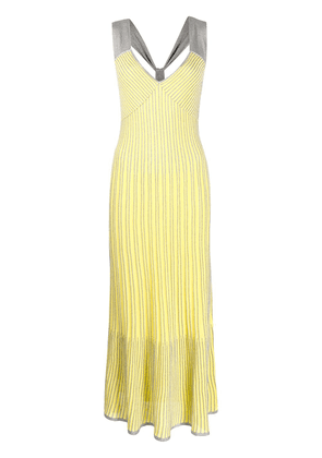 Missoni empire line maxi dress - Yellow