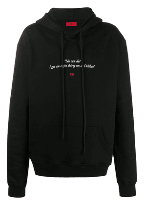 424 No Can Do hoodie - Black