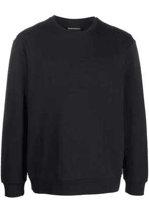 Emporio Armani relaxed fit sweatshirt - Black
