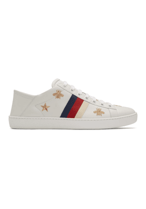 Gucci Off-White Ace Bees and Stars Sneakers