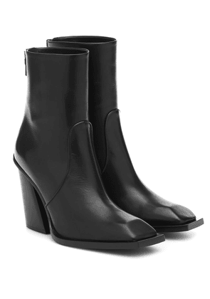 Scott leather ankle boots