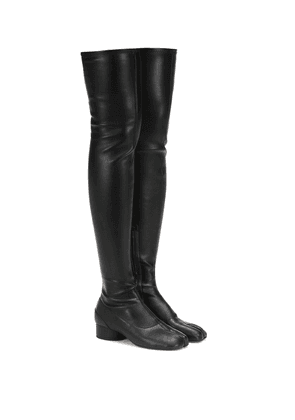 Tabi over-the-knee boots