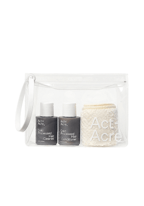 Act+Acre Cold Processed Mini Essentials in Beauty: NA.