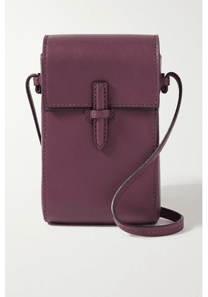 Hunting Season - Leather Shoulder Bag - Burgundy