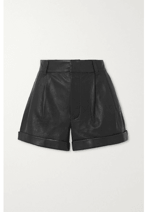RE/DONE - Leather Shorts - Black