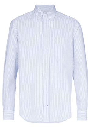 Gitman Vintage button-down striped cotton shirt - Blue