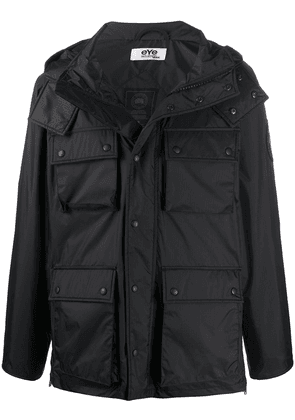 Junya Watanabe multi-pocket padded jacket - Black