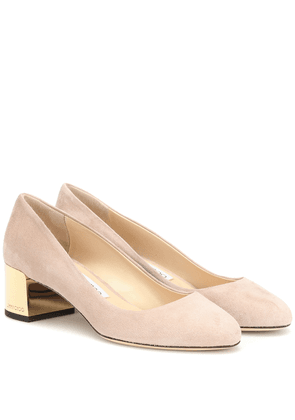 Jessie 40 suede pumps