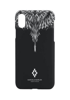 Sharp Wings Print Tech Iphone Xs Case