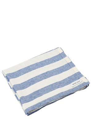 Large Stripe Linen Beach Towel