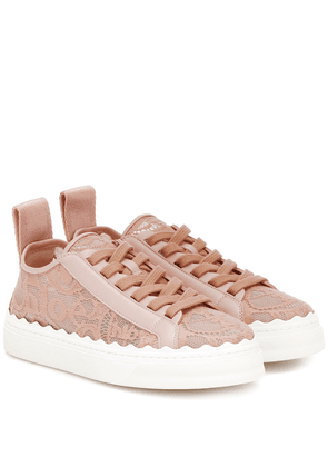 Exclusive to Mytheresa – Lauren lace sneakers