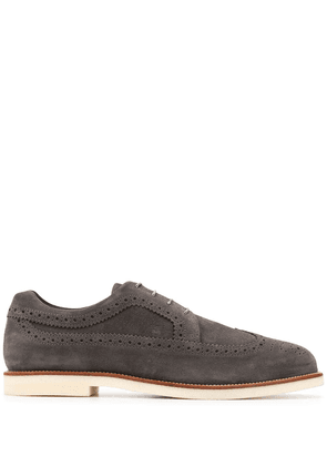 Hogan lace-up brogues - Grey