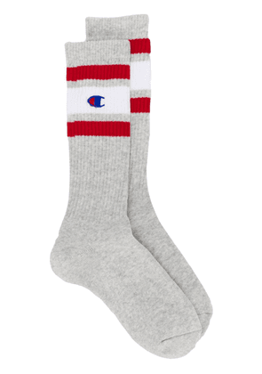 Champion logo socks - Grey