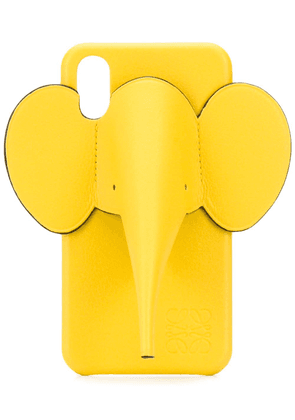 Loewe Elephant iPhone XS case - Yellow