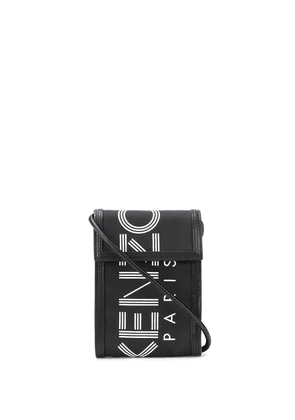 Kenzo Logo cross body bag - Black