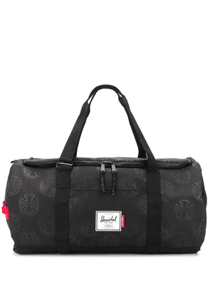 Herschel Supply Co. oversized logo print holdall - Black