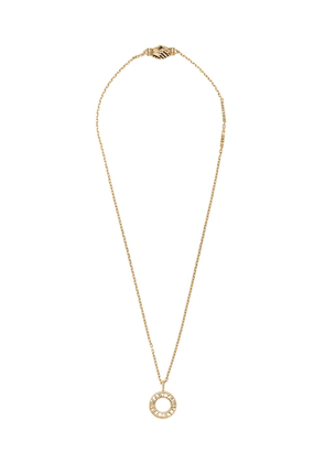MARTYRE logo pendant necklace - GOLD