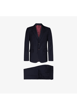 Gucci formal two-piece wool blend suit