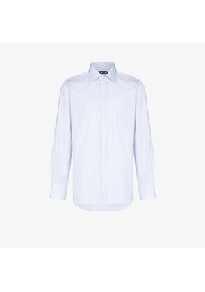 Tom Ford striped button-up cotton shirt