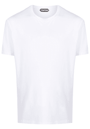 Tom Ford round neck relaxed-fit T-shirt - White