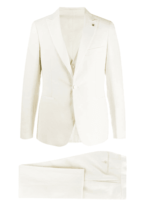 Tagliatore tailored suit - White
