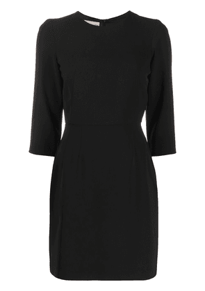 Blanca Vita Alena round-neck mini dress - Black