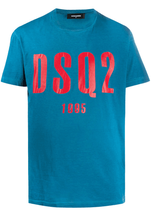 Dsquared2 graphic logo-print T-shirt - Blue