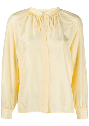 Vince tie fastened blouse - Yellow