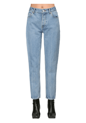 Carrot Cotton Denim Jeans