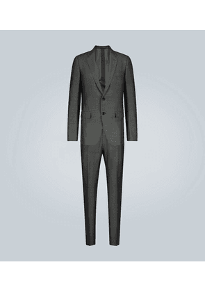 Silk wool-blend suit