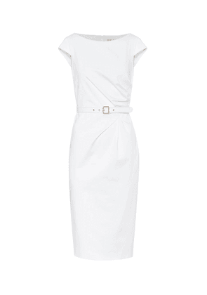 Neris stretch-cotton midi dress