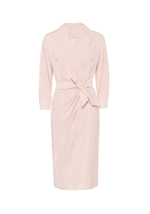 Calia cotton wrap dress