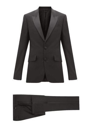 Givenchy - Satin-trimmed Wool-blend Tuxedo - Mens - Black