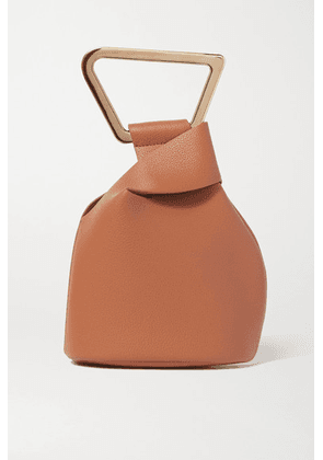 Cult Gaia - Astraea Mini Textured-leather Tote - Tan