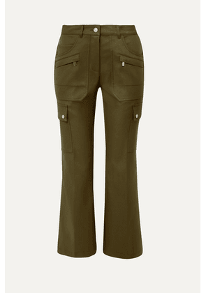 Michael Kors Collection - Cotton-twill Cargo Pants - Army green
