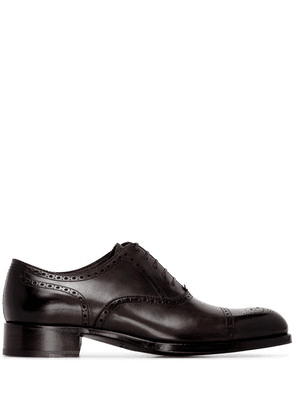 Tom Ford Edgar lace-up brogues - Brown
