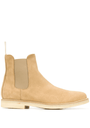 Common Projects suede Chelsea boots - NEUTRALS