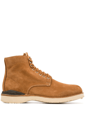 Visvim lace-up construction boots - Brown
